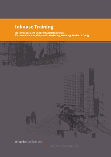 Inhouse Training - Mario Pricken