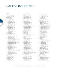 Sachverzeichnis - Georg Thieme Verlag