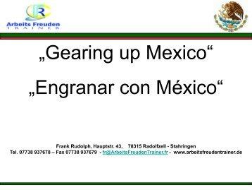 Interkulturelles Training Mexiko-Deutschland - Frank Rudolph ...