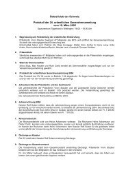 Protokoll der 23 - beim Bobtail Club der Schweiz