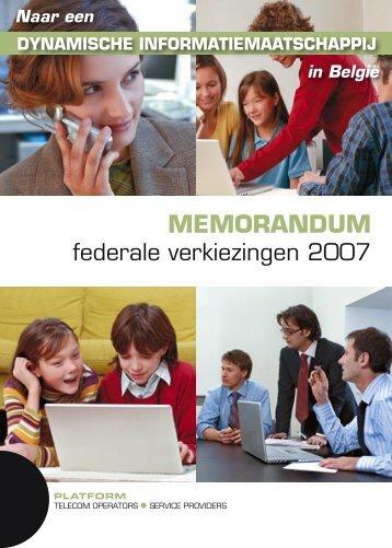 12004 brochure nl - Platform Telecom Operators & Service Providers