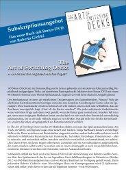 The Art of Switching Decks - Roberto Giobbi
