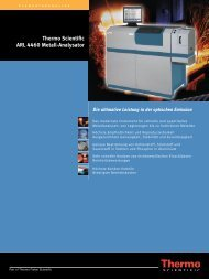 Thermo Scientific ARL 4460 Metall-Analysator