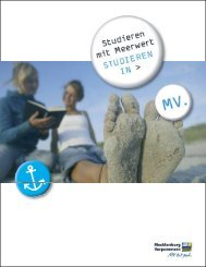 Broschüre - Studieren mit Meerwert