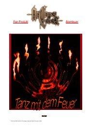 Abenteuer(Wettbewerb): Tanz mit dem Feuer - Nackter Stahl