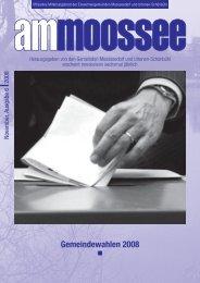 Gemeindewahlen 2008 - Einwohnergemeinde Moosseedorf