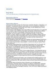 Bergahorn - Oberstufe - GLOBE