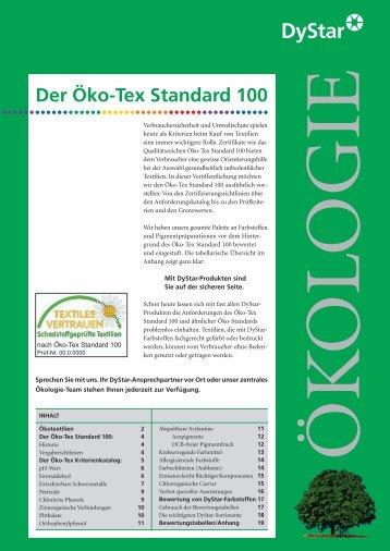 Der Öko-Tex Standard 100