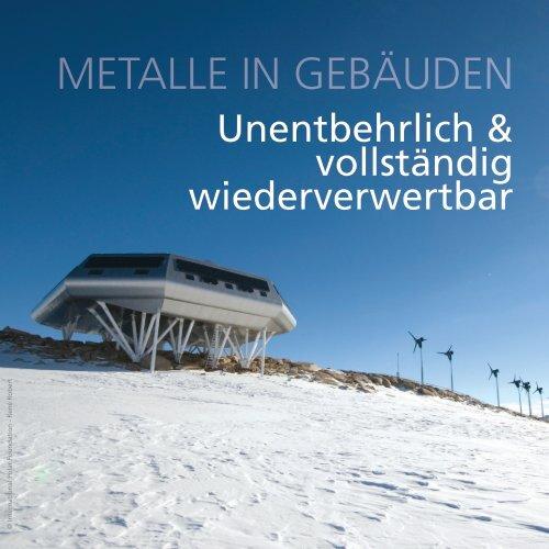 Metalle in Gebäuden - metals for buildings
