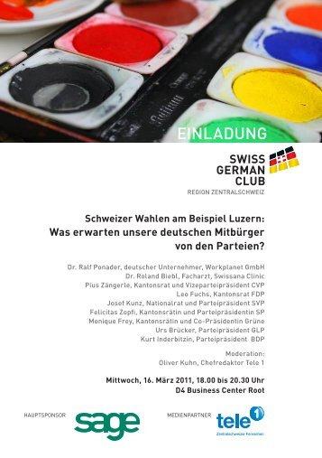 swiss german club - wif - Wirtschaftsforum für Frauen