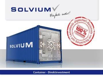 Container-Lebenszyklus – langfristige Renditemöglichkeiten - Solvium