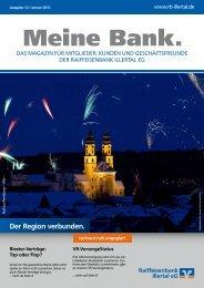 MeineBank 01/2012 - Raiffeisenbank Illertal eG