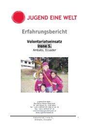 Irene S. (pdf) - Jugend Eine Welt