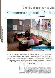 Klassenmanagement: hét instrument voor passend ... - Kennisnet