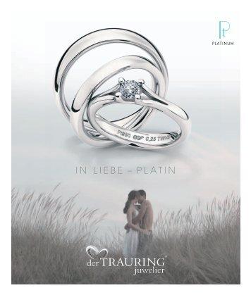 Platinkollektion PDF - Trauringe von der TRAURING juwelier