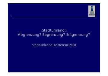 Maerki - Stadt-Umland Management