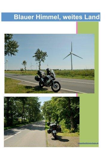 Reisebericht 07.2012