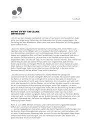 Martin Sturm: Instant Stifter - Linz09