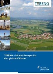 TERENO – lokale Lösungen für den globalen Wandel - bei TERENO