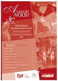 GUIDE PRATIQUE 2012 - Alsace à Cheval