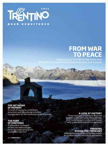 FROM WAR TO PEACE - Trentino SpA