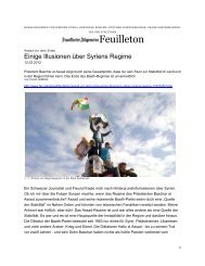 Feuilleton - Fouad Hamdan