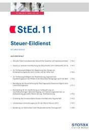 StEd.11 - Stotax Portal