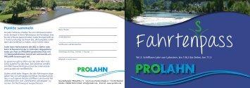 Fahrtenpass Lahnstein - ProLahn