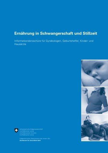 Ernährung in Schwangerschaft und Stillzeit