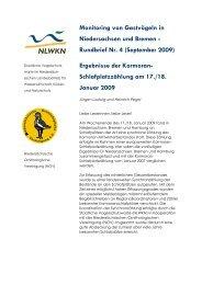 Ergebnisse der Kormoran - Niedersächsischer Landesbetrieb für ...