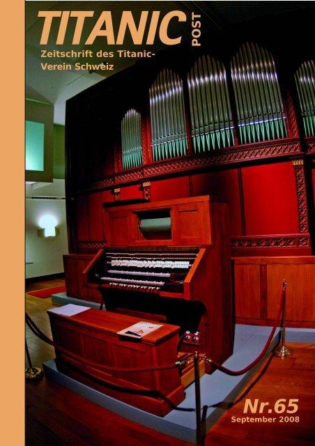Zeitschrift des Titanic- Verein Schweiz