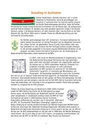 Scouting in Suriname - kelpin.nl