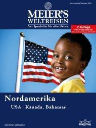 MEIER'S WELTREISEN - Nordamerika (2. Auflage) - Sommer 2009