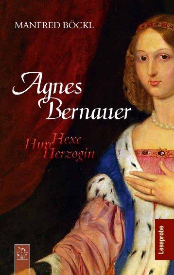 Leseprobe zum Titel: Agnes Bernauer - Die Onleihe