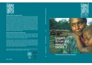 Loggers, donors and resource owners - IIED - International Institute ...