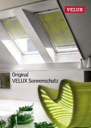 VELUX Prospekt - Schraml Sonnenschutz