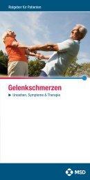 Ursachen, Symptome & Therapie - Gelenkschmerzen