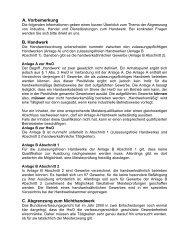 A. Vorbemerkung B. Handwerk C. Abgrenzung zum ... - IHK Kassel