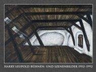 harry leupold bühnen- und szenenbilder 1952 ... - Matthias Leupold