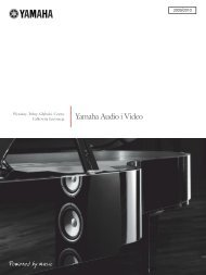 Yamaha Audio i Video - Audio Klan