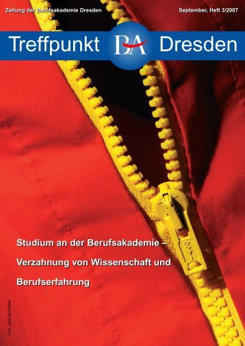 3/2007 - Berufsakademie Dresden