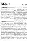 Ganzes Heft zum Download (Pdf) - Neue Justiz - Nomos - Page 4