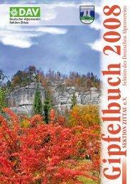 Gipfelbuch 2008 - DAV Zittau
