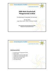 2000-Watt-Gesellschaft Pilotgemeinde Erstfeld - Energie ...