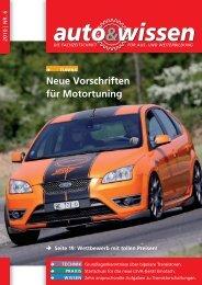 Neue Vorschriften für Motortuning - Auto & Wissen