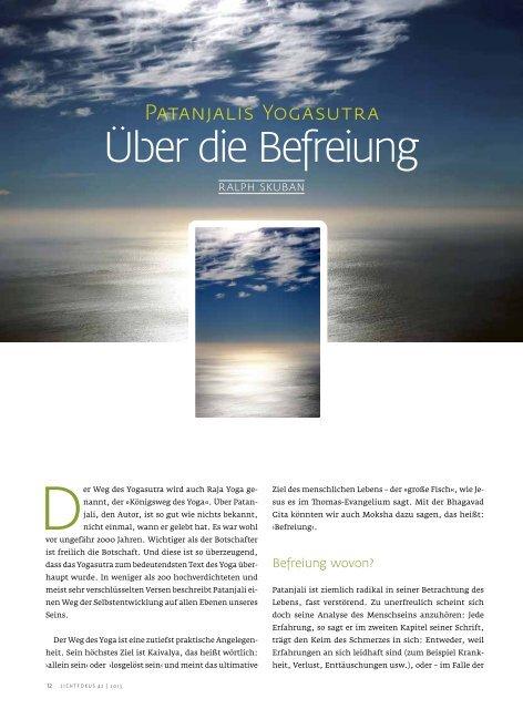 über die befreiung - Skuban.de
