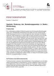 positionspapier - Bundesinnungsverband des Deutschen Steinmetz
