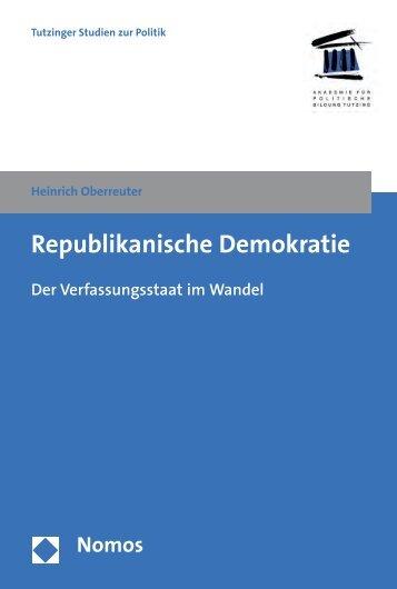 Republikanische Demokratie - Nomos
