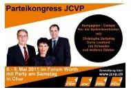 JUNGE CVP BS & BL - Junge CVP Schweiz