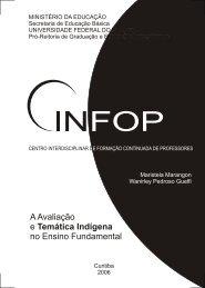 A Avaliação e Temática Indígena no Ensino Fundamental - CINFOP ...